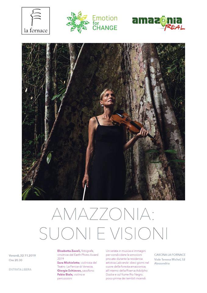 Locandina Amazzonia: Suoni e Visioni